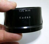 Kodak 135mm Plastic Lens Hood Shade made in Germany Tele xexar 135mm f4