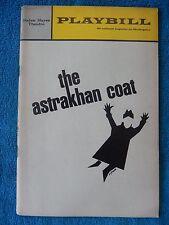The Astrakhan Coat - Helen Hayes Playbill - Opening Night - January 1967