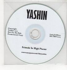 (GH509) Yashin, Friends In High Places - 2010 DJ CD