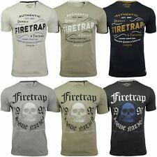 Mens T-Shirt by Firetrap 'Towson' Short Sleeved