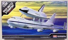 Academy 12708 Space Shuttle & Boeing 747 Transport 1/288 Scale Kits Open Box