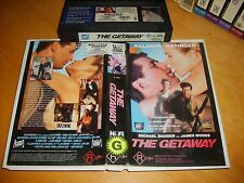 VHS *The Getaway* 1994 Australian 21st Century Issue Cult Action Crime Adventure