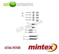 MINTEX REAR BRAKE SHOES SET FITTING KIT PIN SPRINGS GENUINE QUALITY - MBA754