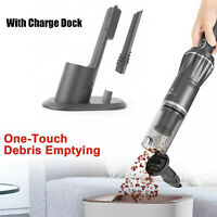 Cordless Hand Held Vacuum Cleaner Portable Car Vacuum Cleaner w Charge Dock K12