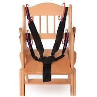 Baby 5 Punkt Harness Sicherheitsgurt Sicherheitsgurte für Kinderwagen Hochstuhl