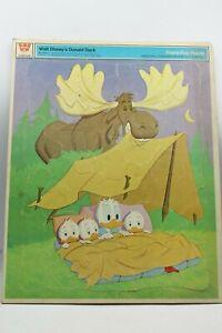 Vtg 1969 Whitman Walt Disney Donald Duc Frame Tray Puzzle #4556