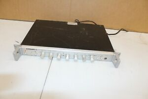 Crown Straight Line Two SL-2 Stereo Preamplifier  Rackmount