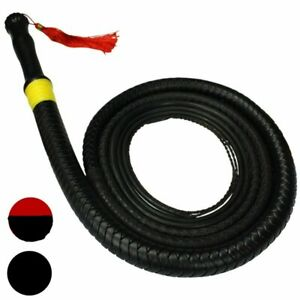 Kung Fu Rubber Fitness Whip Martial Arts Kylin Whip Leather Whip