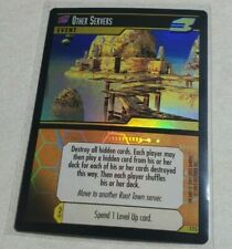 Dot Hack .Hack Enemy Other Servers 1T5 Promo Foil Holo Card Rare Tcg Light Play