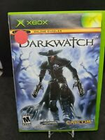 Darkwatch (Microsoft Xbox, 2005) Complete With Manual CIB