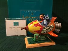 """WDCC Lilo and Stitch """"Storefront Spaceship"""" New in Box"""