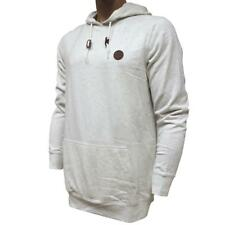 Oakley LANGLEY Hoodie Size XXL Mens White Heather Fleece Hooded Jumper Sweater