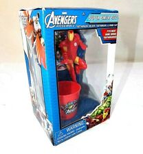 Marvel Avengers Ironman Super Smile Set/Toothbrush, Holder & Rinse Cup