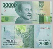 Indonesien / Indonesia 20000 Rupiah 2016 Nationalhelden unz.