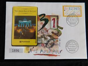 German Phone Card & First Day Cover Issue Stamp 1993 - Neue Zahlen Braucht