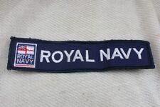 Bande ( support scratch ) de la Royale Navy ( Hauteur:3.5 cm ) ( Longueur:16.5)
