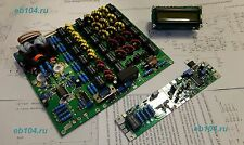 HF power amplifier KIT MOSFET VRF2933 LPF 300W 1.8-54MHz with control and LCD
