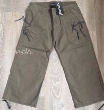 Womens Bench Maddy Cropped Pants Trouser Shorts Cargo Combat Waist 26 Size 8 New