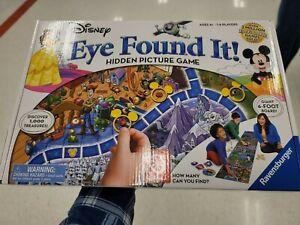 NEW Disney Eye Found It! Hidden Picture Game Ravensburger 2018