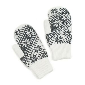 Scandinavian Womens Ladies Extra Warm Winter Gloves Thermal Insulated Mittens