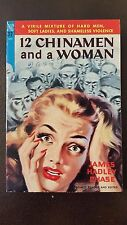 "James Hadley Chase, ""12 Chinamen and a Woman,"" 1950, Novel Library 37, VG+, 1st"