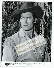 James Arness Gunsmoke Marshal Dillon Clint Walker Cheyenne WB Photo #CW-35