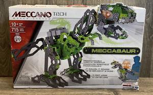 Meccano Tech MECCASAUR Programmable Robotic Dinosaur T-REX STEM Building Kit
