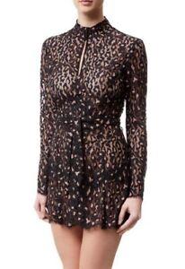 AGENT PROVOCATEUR Effie Gown Black/Pink BNWT
