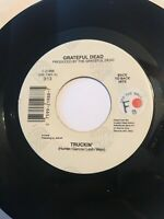 "GRATEFUL DEAD Truckin' /Sugar Magnolia U.S. 7"" 72 45 RPM Water Bros. Records DJ"