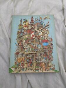 """VINTAGE 1977 SPRINGBOK 500 PIECE JIGSAW """"VERTICALVILLE"""""""