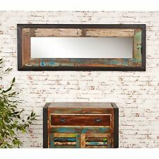 Urban Chic Medium Mirror Reclaimed Wood Indian Furniture