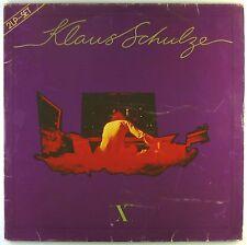 "2x12"" LP - Klaus Schulze - X - L4933h - washed & cleaned"