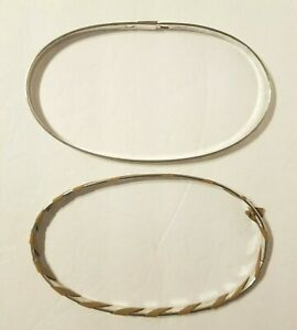 Vintage Metal Cork Lined Spring Tension Oval Embroidery Hoop
