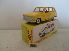 FRENCH DINKY 1416 RENAULT 6 R6 RARE COLOR 9 EN BOITE MIB SO NICE L@@K