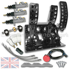 BMW E30 R / H FLOOR MOUNTED IDRAULICO PEDALE BOX COMPLETO + linee = cmb1283-h