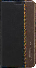 Commander Handy Tasche Case Book Samsung J7 (2017) Gentle Schwarz