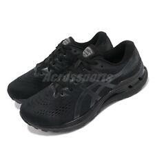 Asics Gel-Kayano 28 4E Extra Ancho Negro Gris Hombres Zapato de correr deporte 1011B191-001