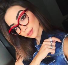 Retro Vintage Glasses Cat Eye Clear Lens Optical Frames Women Myopia Spectacles