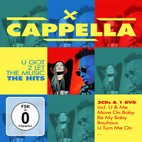 CD DVD Cappella U Got To Let The Music - The Hits 2CDs + DVD