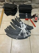 Vintage Strombecker 1:32 Slot Car Track LOT Guard Rails / power pack /controller