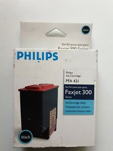 Genuine Philips PFA 431 Black Ink Cartridge For Faxjet 300 Series -  Original!