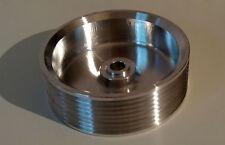 Riemenscheibe bis 8PK - hochfestes Aluminium  Ø 105 - Pulley für Rotrex Lader