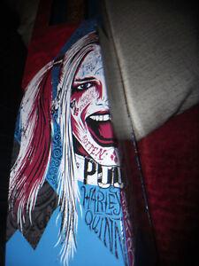 Harley Quinn Replica Baseball Bat AUTHENTIC Wood Prop Replica DCUO Suicide Squad