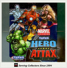 2011 Topps Marvel Universe Hero Attax Collectors Card Game Box ( Capt. A Poster)