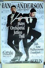 IAN ANDERSON - Jethro Tull   - Konzertposter  Tour Poster 2008