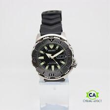 SEIKO 200m DIVER SKX779 Wrist Watch for Men 7S26 Black Monster 161812