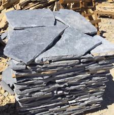 Polygonalplatten Kalkstein Natursteinplatten 3-4cm Blau