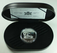 2001 Canada Russel Model L Car $20 Silver Proof Coin Hologram w/ Box COA