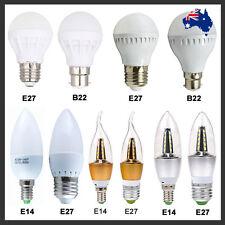 LED 3W 5W 7W 9W 12W E14 E27 B22 Candle Globe Light Bulbs Lamp Spotlight AU