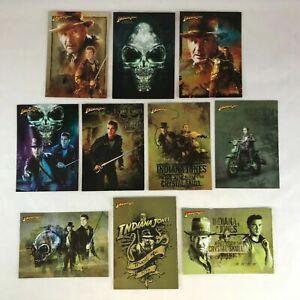 Indiana Jones Kingdom of the Crystal Skull Insert Chase Card Topps